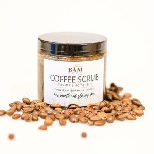 Piling za telo s kavo-BAM body